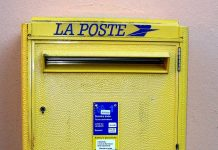plaque boite aux lettres